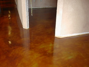 concrete basement staining kansas city