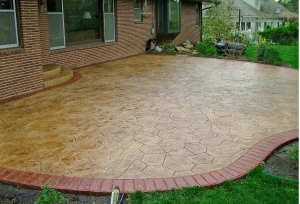 resealing stamped concrete in Kansas City